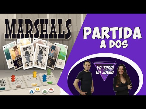 Marshals | Partida | Juego de cartas | Juego de mesa