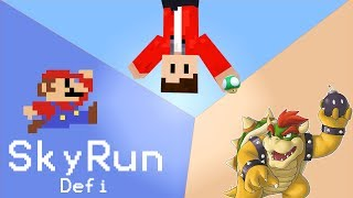 [SkyRun] Défi au Jump [Feat Mario] - Défi Steviix - Record