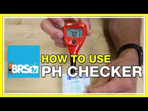 How to test pH with the Hanna pH Checker | BRStv How-To