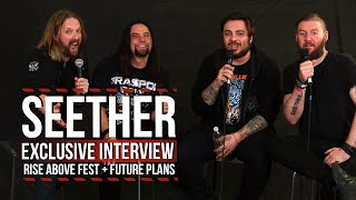 Seether Talk Rise Above Fest, Future Plans + More