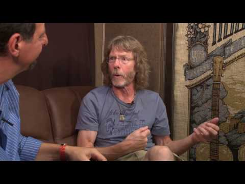 Mike Marshall Interviews Sam Bush at RockyGrass 2016