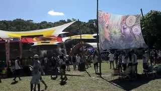 Chegando à Equilibrium Woodstock - Praia Doce