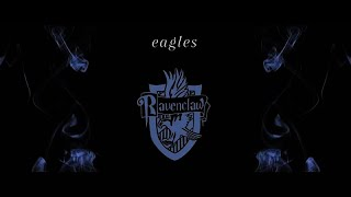 eagles; {ravenclaw house}
