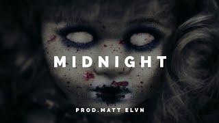 """Midnight"" - Dark Hard Aggressive Angry Freestyle Trap Rap Beat Hip Hop Instrumental"