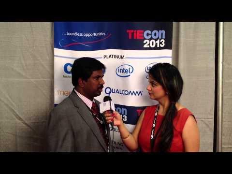 Ramesh Veemaraj of DesiZindagi.FM at TIE CON 2013 - Ramesh Veemaraj of DesiZindagi FM @TiEcon