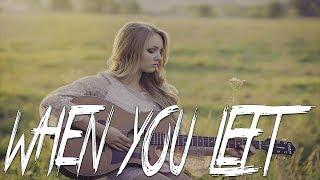 WHEN YOU  LEFT - Sad Emotional Guitar Rap Beat | Beautiful Storytelling Instrumental