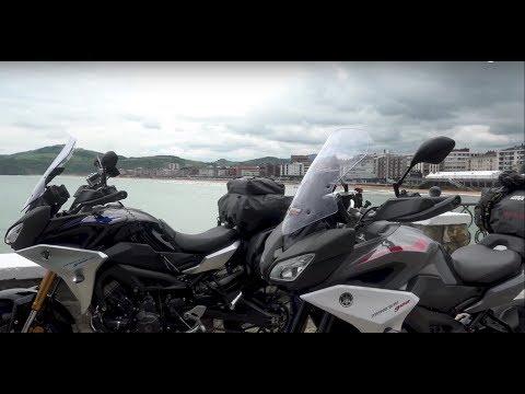 Motosx1000: Ruta por la Costa Vasca con las Yamaha Tracer 900