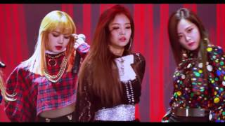 170119 BLACKPINK - PLAYING WITH FIRE & BOOMBAYAH (Jennie Fancam) [2017 Seoul Music Awards]