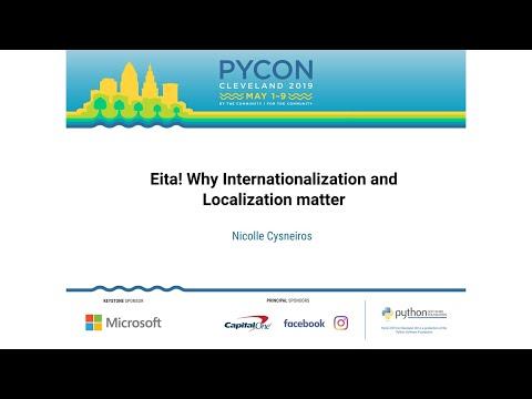 Eita! Why Internationalization and Localization matter