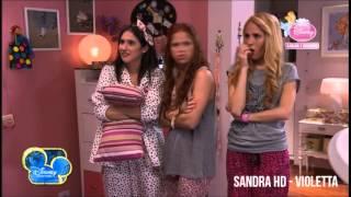 Violetta 2 - Hacen una fiesta en casa de Violetta (Capítulo 10)