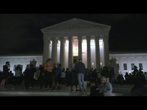 People gather outside US Supreme Court to commemorate Justice Ruth Bader Ginsburg | AFP