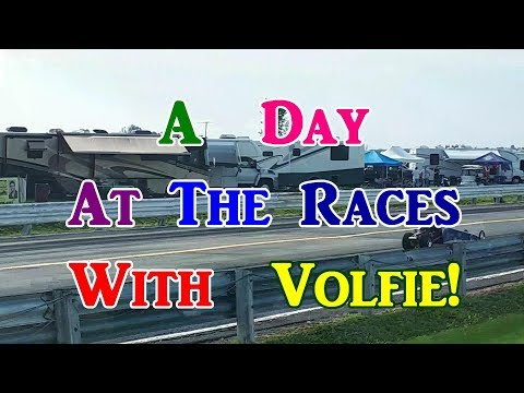 A Day At The Races!  With Volfie!