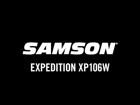Samson Expedition XP106w Product Overview