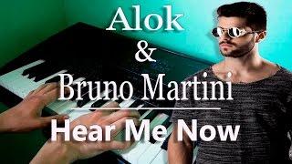 Alok & Bruno Martini feat. Zeeba - Hear Me Now (Piano Cover)