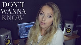 Maroon 5 - Don't Wanna Know (Emma Heesters Cover)