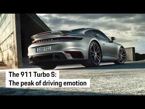 The new Porsche 911 Turbo S: The peak of driving emotion