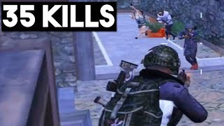 MOST INTENSE GAME EVER   35 KILLS Duo vs SQUAD   PUBG Mobile