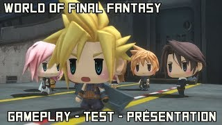 vidéo test World of Final Fantasy par Zeyne