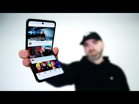 Samsung Galaxy Z Flip Hands On - Better Than Razr?