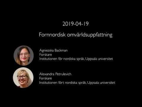 Föredrag: Norse World - Fornnordisk omvärldsuppfattning