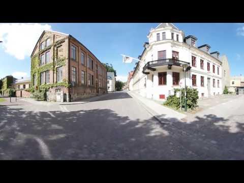 Cykeltur i centrala Lunds äldre kvarter