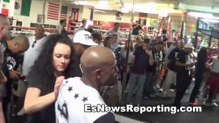 Mayweather vs Pacquiao - Floyd says Manny will be number 48