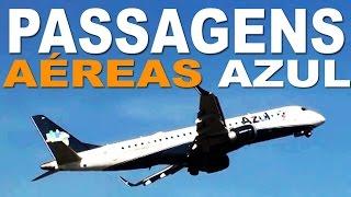 Passagens Aéreas Azul  -  Ida e Volta