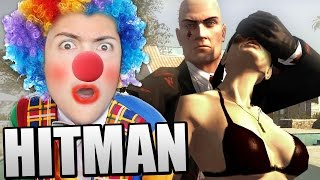 DISGUISING MYSELF AS A CLOWN! (Hitman Blood Money)