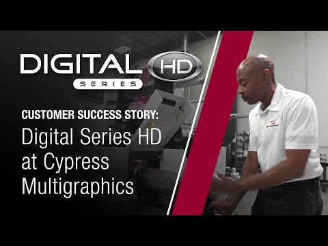 Mark Andy Digital Series HD at Cypress Multigraphics