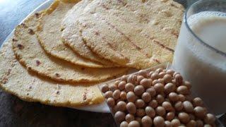 Arepas o Tortillas de Soja o Soya