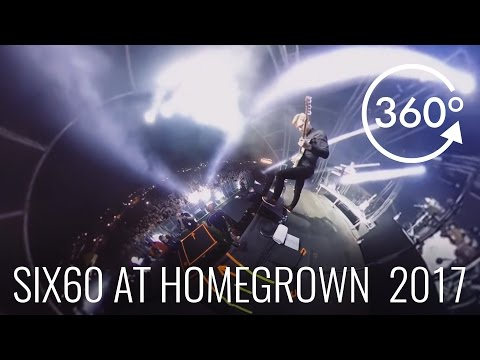 "Homegrown 2017 - Six60 ""Rise Up"" 360 Video"