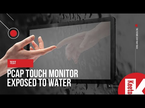 Test: PCAP monitor resistance to water and humidity