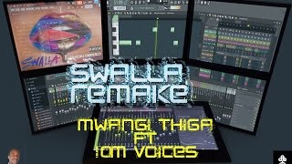 Jason Derulo - 'Swalla' feat Nicki Minaj & Ty Dolla $ign Remake by Thiga $ 10M voices FL Studio