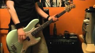Blink 182 Down Bass Cover New Mark Hoppus Fender Signature 2011