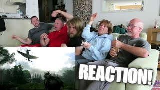 Psycho Family REACTS to Call of Duty: WW2 Trailer!