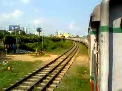 Bangladesh Railway Silkcity Intercity Express you tube video [part 2]..MP4