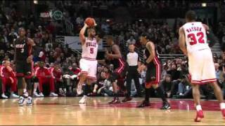 Chris Bosh flop vs Bulls