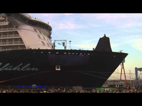 TUI Cruises – 'Mein Schiff 4' launch in Kiel