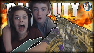 Advanced Warfare: GIRLFRIEND PLAYS CALL OF DUTY! *LIVE* Funny Moments w/ My Girlfriend! (COD AW)