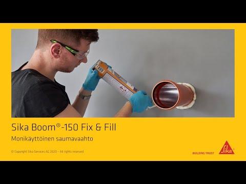 Sika Boom® 150 Fix & Fill -pillivaahto - kiinnittää, eristää ja täyttää