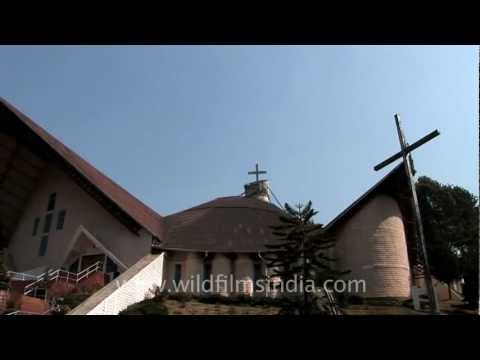 The Catholic Cathedral of Kohima