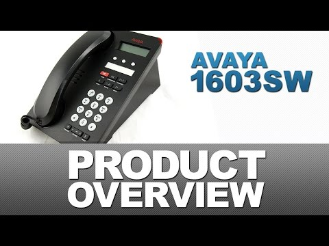 Avaya 1603SW Product Overview