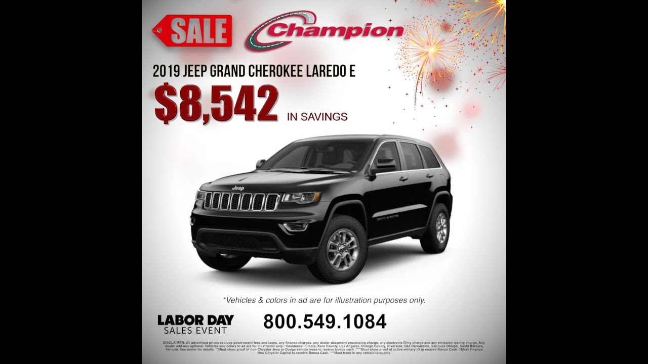 Champion Dodge, Chrysler, Jeep, RAM New & PreOwned vehicles
