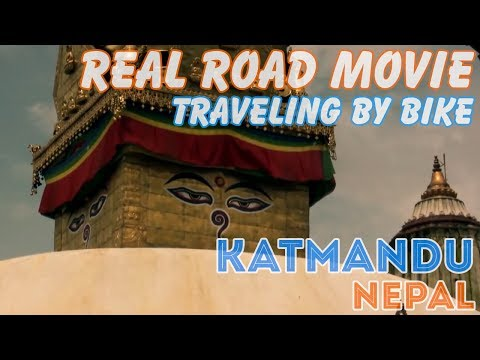 Bicycle Travel [Real Road Movie] Episode 43: Katmandu Nepal (Eng Sub)