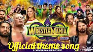 |Official theme song of Wrestle mania 34|NafiSami Channel.