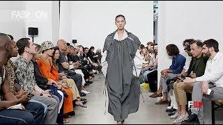 HED MAYNER Spring Summer 2020 Menswear Paris - Fashion Channel
