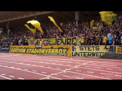 Stimmungsvideo Borussia Dortmund U23 - Rot-Weiss Essen | 30.07.2017, 1. Spieltag Regionalliga West