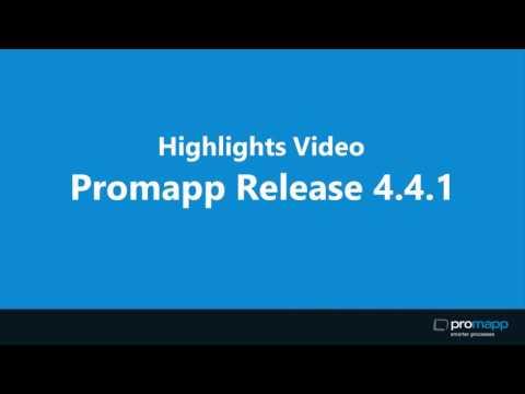 Promapp Release 4.4.1 Highlights