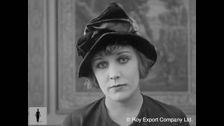 Edna Purviance Screen Test - Charlie Chaplin Archives Rare Footage