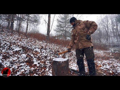 Military Surplus Snow Storm Camp